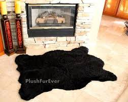 Black Large Rug Best 25 Faux Animal Skin Rugs Ideas On Pinterest Animal Skin