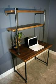 diy pipe desk plans galvanized pipe furniture plan pipe desk plans wall leaning door top