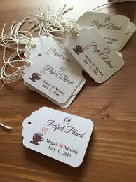 best 25 coffee wedding favors 25 best wedding and bridal shower favor tags images on