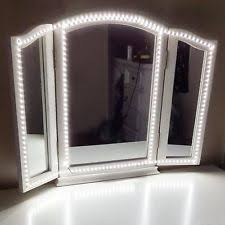 vanity mirror with led lights vanity lighted makeup mirror emo makeup