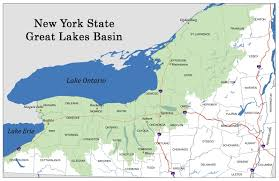 New York rivers images Map of new york 39 s great lakes basin nys dept of environmental jpg