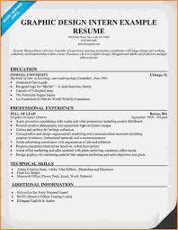 graphic design intern resume resume examples graphic design
