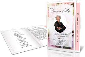 Pictures For Funeral Programs Five Tips For Professional Looking Funeral Programs Elegant