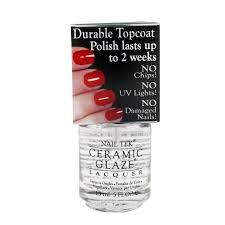amazon com nail tek durable top coat polish 0 5 oz gel nail