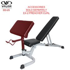 dd 25 adjustable utility bench fid with wheels valor fitness