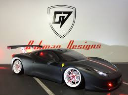 ferrari custom 190mm tamiya ferrari 458 challenger custom body oak man designs