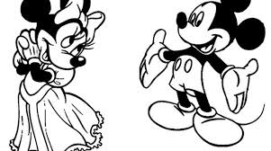 mickey minnie mouse coloring pages gekimoe u2022 18622