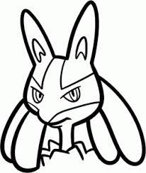draw lucario pokemon hellokids