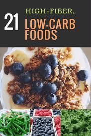 ultimate high fiber low carb foods