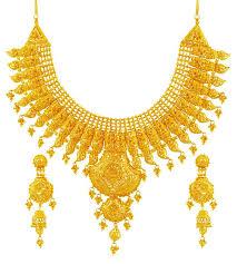 bridal necklace set gold images 22k gold bridal necklace set stbr17765 sets necklace jpg