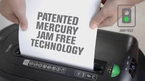 rexel mercury rex1323 cross cut paper shredder product video