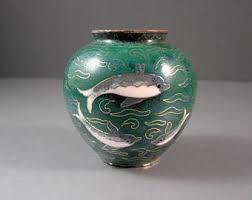 Dolphin Vase Dolphin Vase Etsy
