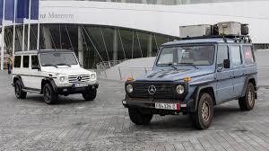 mercedes benz celebrates 35 years of the g wagen autoweek