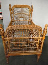 Gothic Baby Cribs by Victorian Baby Cradle Antique Victorian Wicker Baby Crib