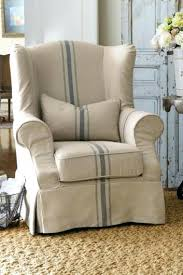 white wing chair slipcover chair wing chair slipcover chair white canvas wing chair slipcover