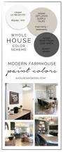 Modern House Color Palette Whole House Color Scheme Paint Colors Hello Allison