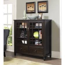 30 Inch Media Cabinet Harper 30 Inch Low Storage Cabinet In Walnut Brown Storage