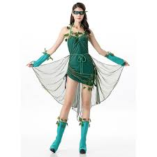 Poison Ivy Halloween Costume Lethal Poison Ivy Costume Halloween Dress N11683