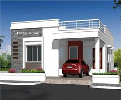 750 sq ft contemporary home design for small plot 750 sq ft house