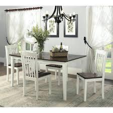kitchen island dining set 146 kitchen island dining room table shiloh 5 white
