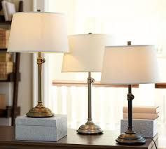 lamps simple brass bedside lamp design decor modern under brass