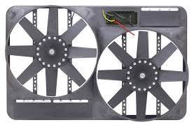 flex a lite electric fan kit flex a lite automotive dual 13 1 2 inch electric fan system with