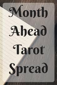 month ahead spread tarot tips pinterest tarot and cards