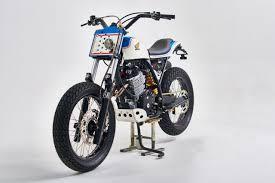 vintage honda custom of the week honda xr600 by vintage addiction crew u2013 motofire