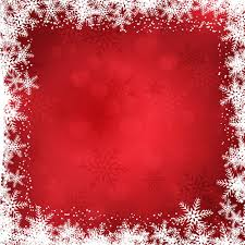 Christmas Background With Snowflakes Border Vector Free Download