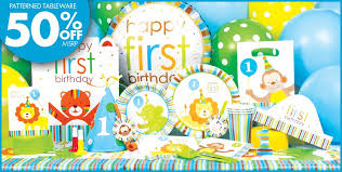 1st birthday party supplies boy birthday decorations party city image inspiration of cake
