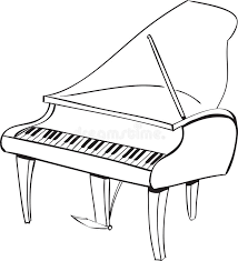 piano doodle stock vector image 43099979
