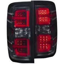 chevy silverado led tail lights anzo chevy silverado gmc l e d tail lights red g2 headlight revolution