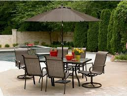 Glass Patio Table With Umbrella Hole Ace Glass Patio Table With Umbrella Hole Outdoor Furniture