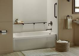 Which Is Better Cast Iron Or Acrylic Bathtubs Baths Guide Bathtubs Kohler