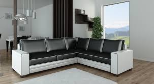 meuble et canapé amsterdam canapé d angle blanc noir degriffmeubles com