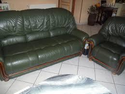 canape cuir occasion achetez canapé 3 places 1 occasion annonce vente à bômer