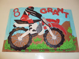 motocross bike cake grant u0027s dirt bike cake cakecentral com