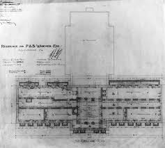 lynnewood hall 2nd floor gilded era mansion floor plans lynnewood hall sub basement gilded age mansions pinterest