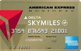 delta gold business card delta sky american express gold business airlines