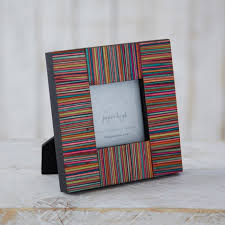 Handmade Photo Albums Handmade Striped Dhari Photo Frame 3
