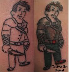 fallout video game tattoo fix by redsamuraidragon on deviantart