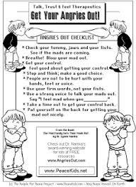 managing anger teenagers worksheets for children kids develop