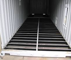 container conversion 40ft with apertures and internal flooring removed