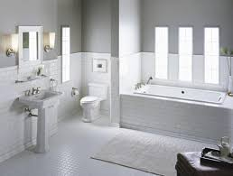 white tile bathroom designs white tile bathroom house beautiful