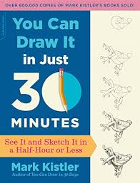 you can draw it in just 30 minutes see it and sketch it in a half