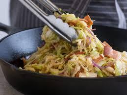 sautéed cabbage and bacon recipe food u0026 wine