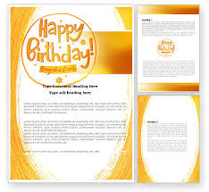 19 birthday card templates for word images free birthday card