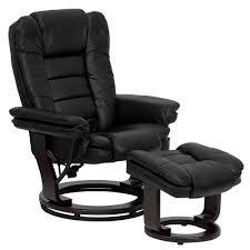best leather recliner chair and ottoman heavy duty office chairs