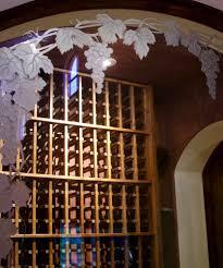 vineyard grapes trellis 3d etched glass windows sans soucie