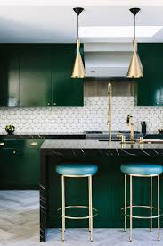 Green Kitchen Cabinets Cabinet Green And White Kitchen Best Trending Kitchen Colors
